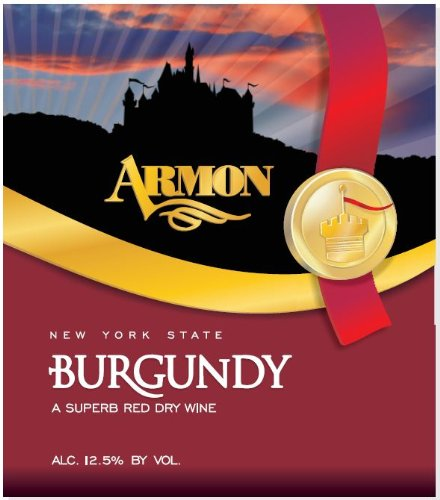 Nv Armon Burgundy New York Red Wine 1.5 L