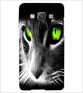 PrintDhaba Digital Cat D-2126 Back Case Cover for SAMSUNG GALAXY A5 (Multi-Coloured)