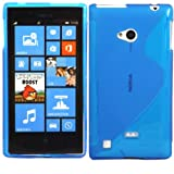 S-Line Gel Case Cover Skin For Nokia Lumia 720 / Blue