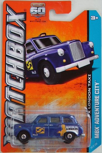 2013 Matchbox MBX Adventure City - Austin FX London Taxi - 1