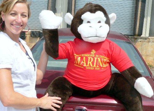 Giant Stuffed Gorilla Monkey