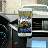 AndyGo® Car phone mount,Universal Air Vent Cellphone Mount Series - Cell Phone Holder for Car with 360°Rotate