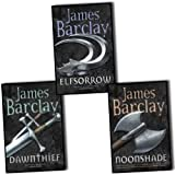James Barclay, Chronicles Of Raven 3 Book Collection Set RRP �22.97 (Dawnthief: Chronicles of the Raven 1, Elfsorrow: Legends of the Raven, Noonshade)