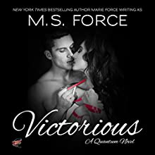 Victorious: Quantum Trilogy, Book 3 (       UNABRIDGED) by M.S. Force Narrated by Brooke Bloomingdale, Cooper North