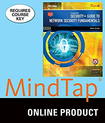 MindTap Computing for Ciampa's CompTIA Security+ Guide to Network Security Fundamentals, 5th Edition
