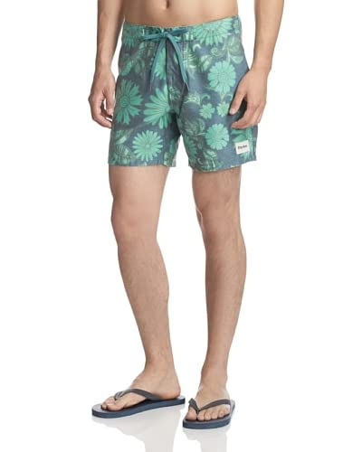 Rhythm Men's Flower Pot Swim Trunks