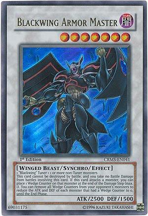 YuGiOh-5Ds-Crimson-Crisis-Single-Card-Blackwing-Armor-Master-CRMS-EN041-Ultr