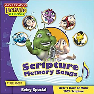 Scripture Memory Songs:  Verses About Being Special (Max Lucado's Hermie & Friends)