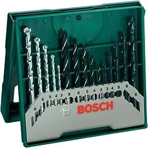 Bosch 15-teiliges Mini-X-Line Mixed Set, 2607019675