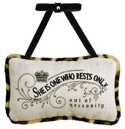 Grasslands Road Door Hanger Pillow ~ She Who Rests - 1