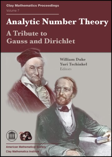 Analytic Number Theory: A Tribute to Gauss and Dirichlet