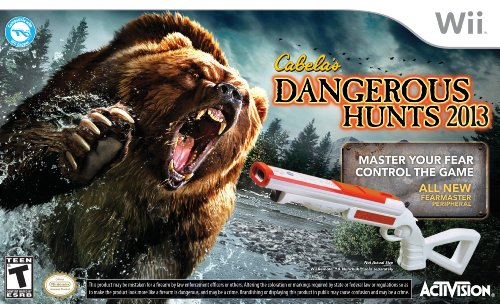 ActiVision, Inc. CABELA'S DANGEROUS HUNTS 2013 w/GUN Wii - ActiVision, Inc. - 76967 at Sears.com
