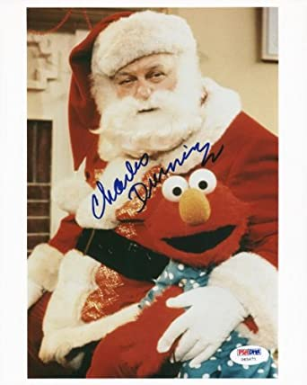 CHARLES DURNING MRS. SANTA CLAUS SIGNED AUTHENTIC 8X10 PHOTO CERTIFICATE OF AUTHENTICITY PSA/DNA #U65671