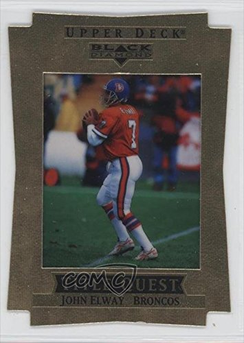John Elway #27/100 Denver Broncos (Football Card) 1997 Upper Deck Black Diamond [???] #Tq8