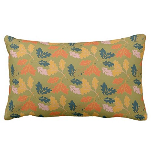 Thanksgiving Leaves Pillow Covers Thanksgiving Wikii