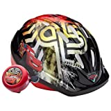 Disney Pixar Cars the Movie - Toddler Microshell Helmet - Lightning McQueen - Black and Red