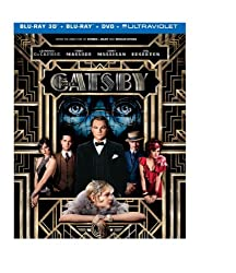 The Great Gatsby  (Blu-ray 3D + Blu-ray + DVD + UltraViolet Combo Pack)