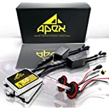 """Apex HID Xenon Conversion Kit """"All Bulb Sizes and Colors"""" with Premium Slim Ballasts (9006, 8k ice blue)"""