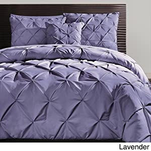 Amazon Com Carmen 3 Piece Duvet Cover Set Lavender Size