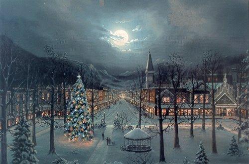 Amazon.com: Jesse Barnes - Christmas in the City: Fine Art
