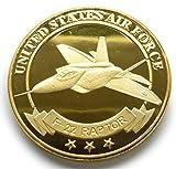アメリカ合衆国 空軍 F-22 RAPTOR ラプター コイン メダル