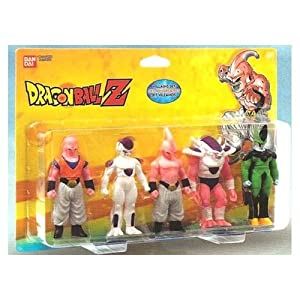 Bandai 34502 - Dragon Ball Z, pack de 5 figuras