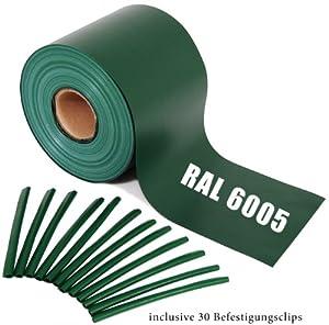 Sichtschutz Guch Nich für Doppelstabmatten, Blichdicht, Zaun, Zäune, Gartenzaun 65m RAL6005/grün  BaumarktKundenbewertung und Beschreibung