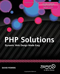 Book cover of PHP Solutions: Dynamic Web Design Made Easy