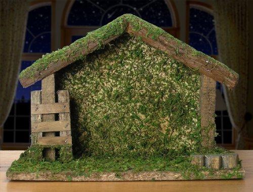 Nativity Stable Creche Home Garden Decor Seasonal Holiday Decorations Sets