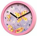 Bai Children Wall Clock Butterflies