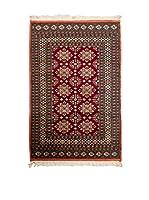 Navaei & Co. Alfombra Kashmir Rojo/Multicolor 148 x 92 cm