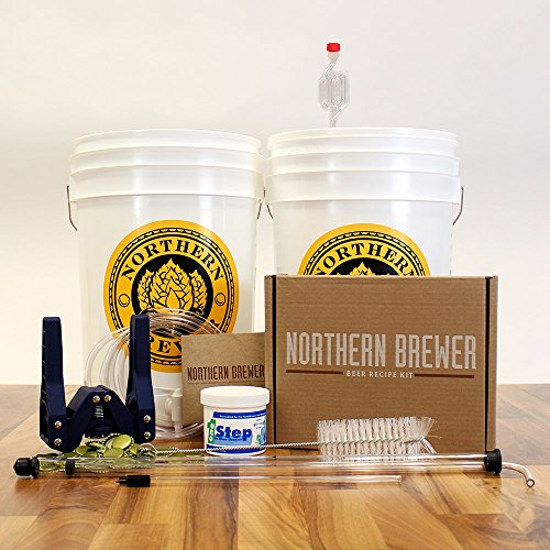 Brewery in a Box Essential Homebrew Beer Brewing Equipment Starter Kit with Chinook IPA Beer Recipe Kit (Brewer Starter Kit compare prices)