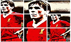 Kenny Dalglish Liverpool Fc Stylish Art Print Poster - Free Uk Shipping from TALKING LOUD