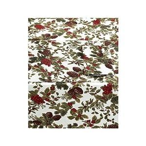 Amazoncom Ralph Lauren Birchmont Red Tablecloth 60 X