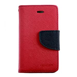 Funky Diary Case With Solid Hard Grip For Apple Iphone 4,4S,4G
