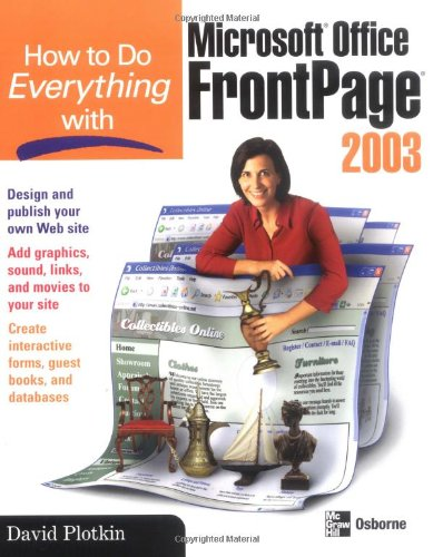 frontpage 2003 tutorial pdf free
