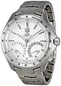 Tag Heuer Men's CAT7011.BA0952 Link Calibre S Silver Dial Dress Watch