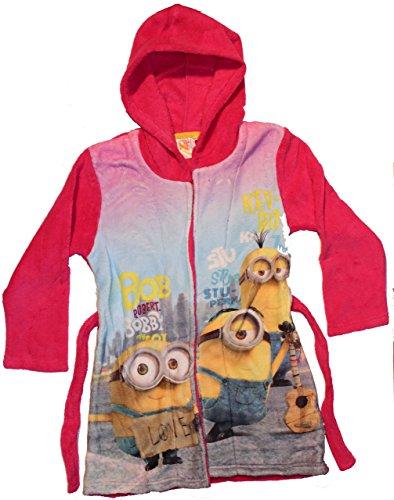 Universal Pictures Minions Love, Vestaglia Bambina, Rosa, 3 Anni