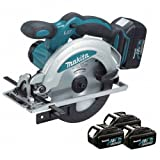Makita BSS610RFE3 18V 165mm Li-ion Circular Saw 3 x 3Ah Batteries
