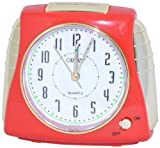Orpat Musical Alarm Clock (Red, TBSMZL-867)