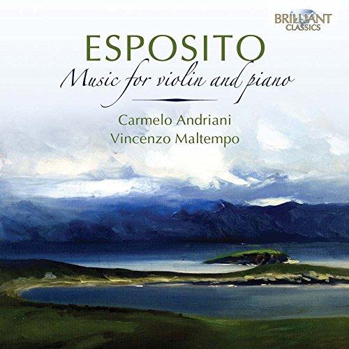 CD : CARMELO ANDRIANI - VINCENZO MALTEMPO - Music For Violin & Piano (CD)