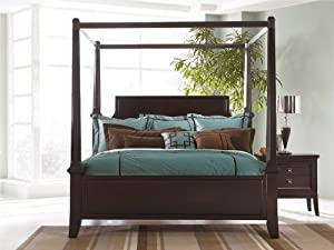 Ashley Millennium - Martini Suite King Poster Bed with Canopy