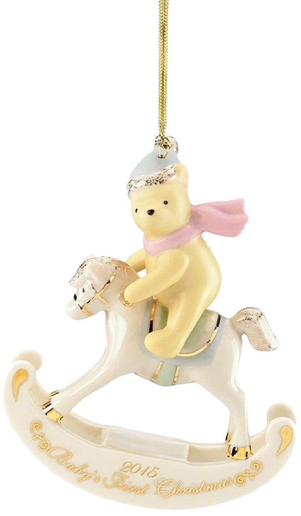 lenox 2015 disneys winnie the pooh babys 1st christmas ornament