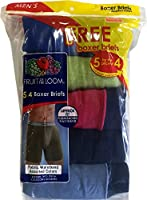 Fruit of the Loom Men's 5 (4 +1 FREE) Pack Classics Boxer Brief