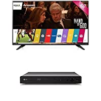LG Electronics 43UF7600 43-Inch TV with BP350 Blu-Ray Player by LG