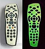 Glow in the Dark Sky + Plus HD TV Remote Controller Vinyl Skin Sticker