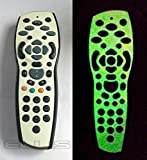 Glow in the Dark Sky + Plus HD TV Remote Controller Vinyl Skin by Ellis Graphix