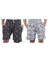 Combo Of Trendy Printed Men Shorts By Bfly - B013V27V00