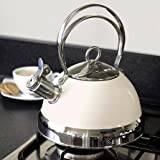 Candy Rose Collection Cream Stove Kettle