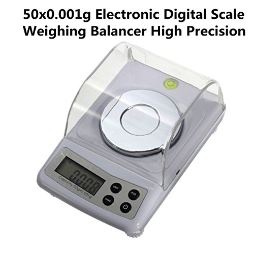 ELEGIANT High Precision 50g 0.001g Electronic Digital Scale Jewellery Balance Gram Scales